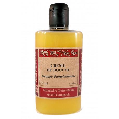 Crème douche Orange-pamplemousse