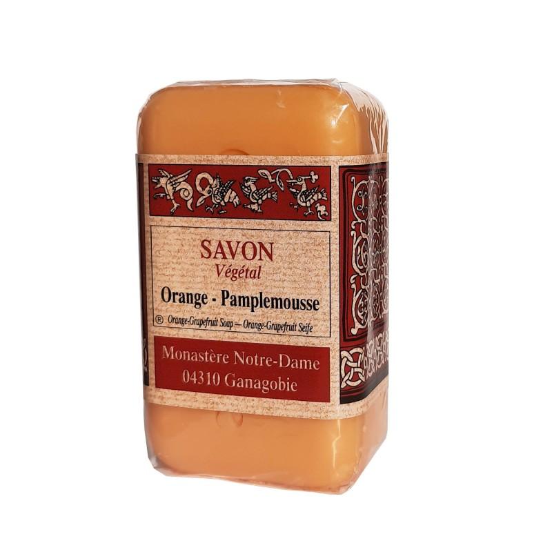 Savon Végétal Orange Pamplemousse