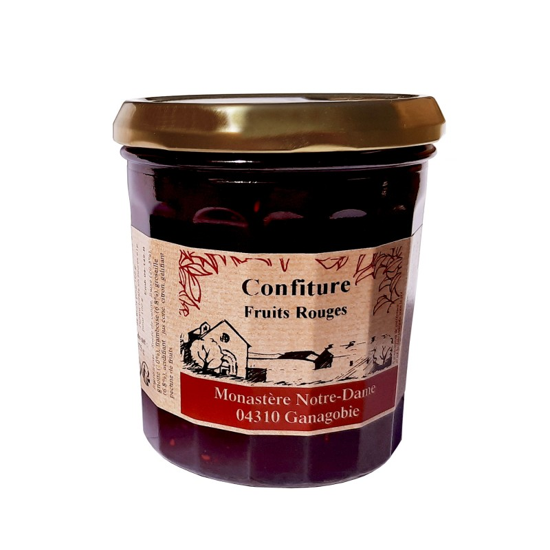 Confiture Fruits Rouges