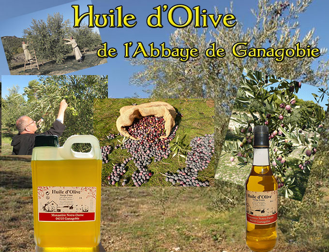 Huile d'Olive de Ganagobie